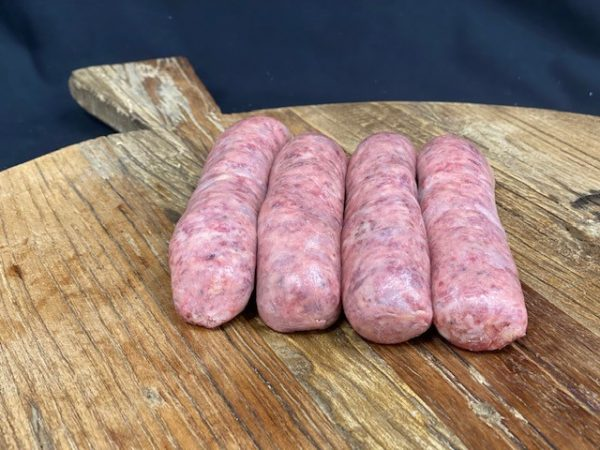 Mangalitza Black Pepper Sausages