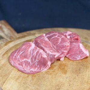 Outdoor Reared Pork Cheeks - Min. 350g