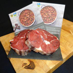 Welsh Wagyu Beef Shin Min. 500g - Dry Aged