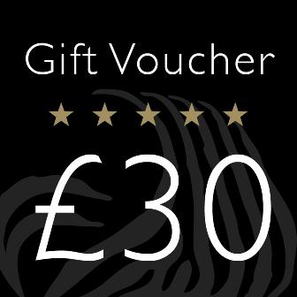 Gift Voucher Value £30.00