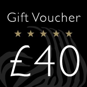 Gift Voucher Value £40.00