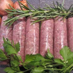 Outdoor Reared Gloucester Old Spot Pork Sausages - Min. 380g (6)