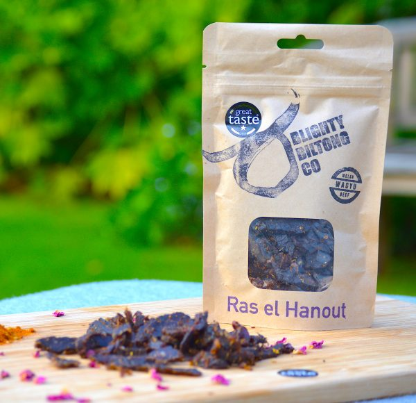 Welsh Wagyu Biltong - Ras El Hanout - 50g GOLD STAR AWARD WINNER 2017 *