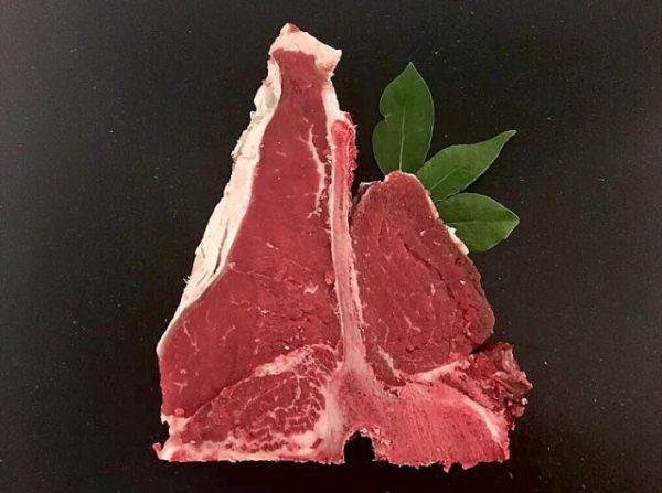 Rose Veal T-Bone Steak Min. 400g