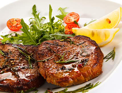 Posh Steak and Chips !! A Special Offer for Father's Day !! The one with 4 Welsh Wagyu Rump Bistro Steaks