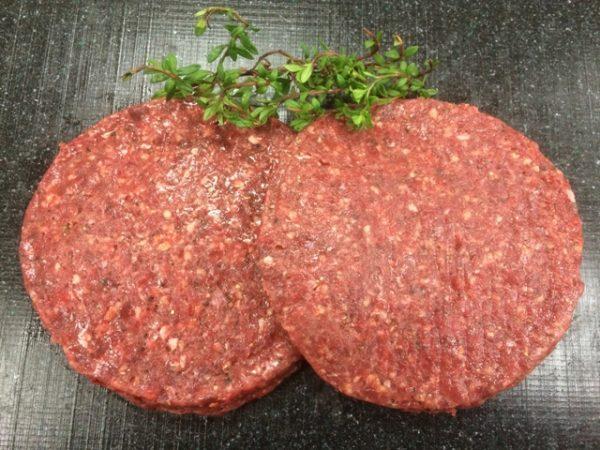 Wild Boar Burgers min. 340g